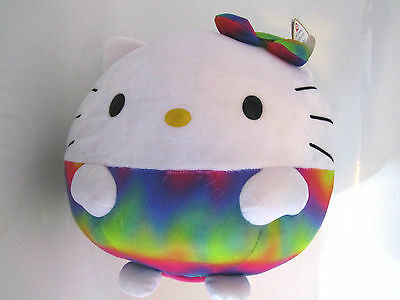 TY - Hello Kitty Plüsch Ball - Regenbogen - Beanie Ballz Collection, ø ca. 35 cm