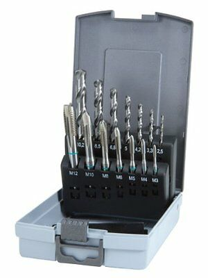 Ruko 245048RO Tap Drill Bit Set 14-Piece HSS DIN 371 / 376 New Gift UK SELLER