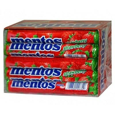Mentos Mints Strawberry 15Ct