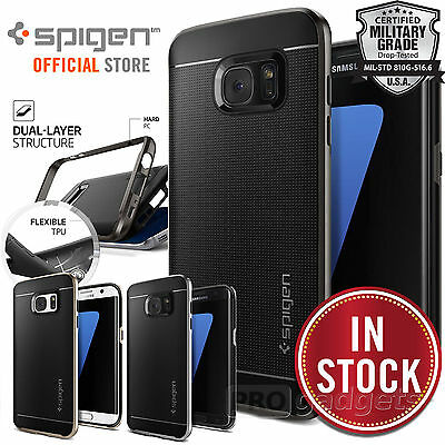Galaxy S7 Edge /S7 Case, Genuine SPIGEN Neo Hybrid Cover with Bumper for Samsung