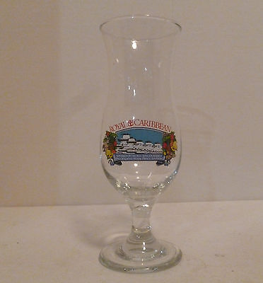 Royal Caribbean Cruise Lines RCCL Vintage Tulip Glass