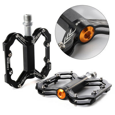 Road Mountain Bike Bicycle MTB Downhill Bearing Flat Platform Nylon Pedal CS233