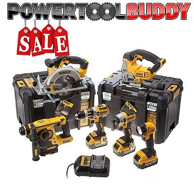 Dewalt DCK699M3T 18volt Li-ion 6 Pc Kit 3 x 4.0ah Batteries*NEXT DAY DELIVERY *