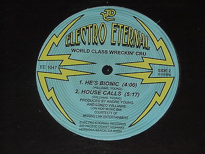 """WORLD CLASS WRECKIN CRU Mission Impossible 12"""" Ice Cube NWA /Electric Etrenal 05"""