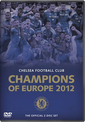 Chelsea FC - Champions of Europe (Mult-region DVD, 2012, 2-Disc Set)