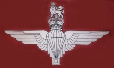 3' x 2' Parachute Regiment Flag UK Paras Army Airborne Infantry Forces Banner