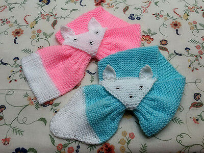 Infants Knitted Cute Scarf (2 Pieces)