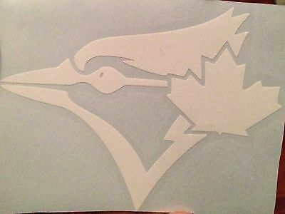 Toronto Blue Jays Decal Sticker WHITE Plus FREE Mini DECAL!