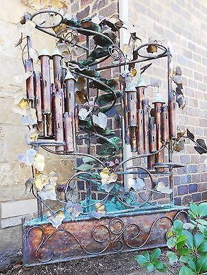 Extreme Offer!!! C. Jere Orig. 5' Tall Huge Castle Copper/brass Water Fountain