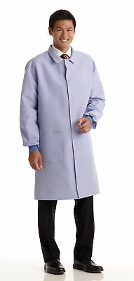 Medline Men's ResiStat Protective Lab Coat (Size XS - 3XL)