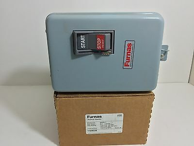 New! Furnas Manual Starter 11Db2B 115/230 Vac