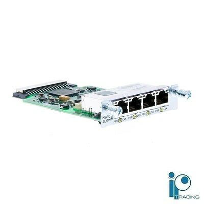 HWIC-4ESW - Cisco 4-Port Single-Wide 10/100 EtherSwitch Card