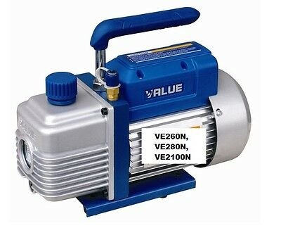 Value High End 2 Stage Refrigerant Air Vacum Vacuum Pump: 170-340 Litres/minute