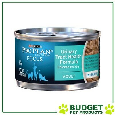 Pro Plan Urinary Tract Health Formula Chicken For Adult Cats 85gm x 24
