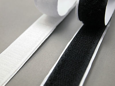 8 sizes Crafts Sewing Heavy Duty Hook + Loop Tape Self Adhesive Sew Sticky Strip