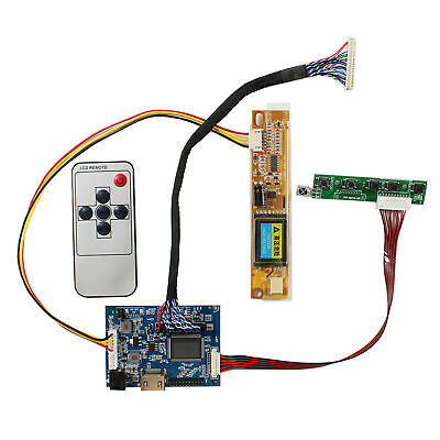 HDMI LCD driver board work for 17inch LP171WP4 LP171WX2 1440x900 30pin LCD panel