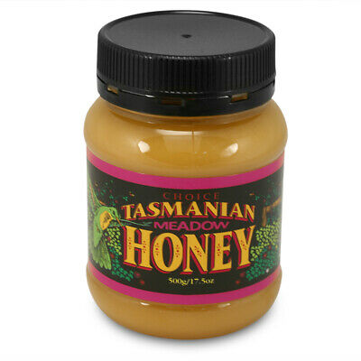 NEW Tasmanian Honey Meadow Honey 500g