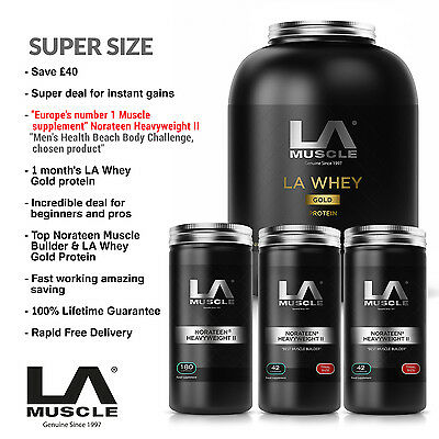 LA Muscle Supersize Stack RRP £1200