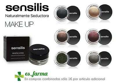 Sensilis Mystic Eyes Sombra De Ojos Crema 3G Cream Eyeshadow Make Up