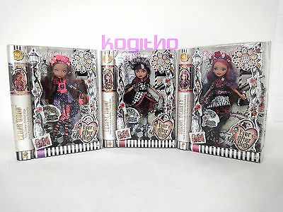 NEU/OVP Ever After High Mode Puppen Spiel Puppe Modell Monster High Mattel CDM49