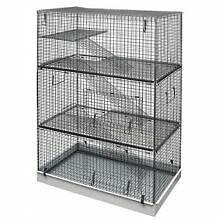 Lazy Bones Wire Rodent Cage Triple Storey
