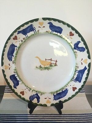 """Wood And Sons Jack's Farm 10 1/2"""" Dinner Plate X 2"""