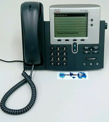 ★★★★ Cisco Unified IP Phone 7941G SCCP V CP-7941G IP Telefon Phone VoIP CP-7941