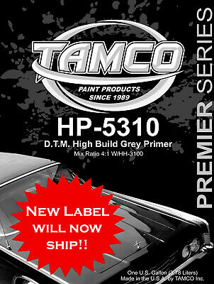 Tamco Paint HP-5310 2K Gray DTM Acrylic Primer The Best Automotive primer period