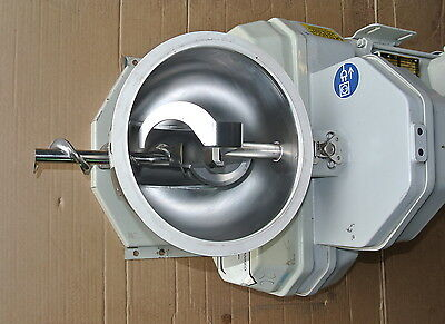 S60 Single Screw Volumetric Feeder Ktron Model K2MVS60DR 39 Cu/Ft Rate