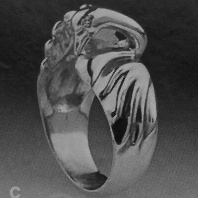 Sculpted Sterling Silver Trumpeter Swan Ring- NEW! Only at Sigi Design