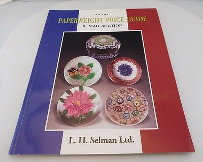 Collectors Auction Catalog & Price Guide Paperweights L.H. Selman 1997 Paperback