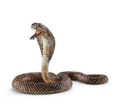 Schleich 14733 Cobra Snake Reptile Animal Model Toy Figurine - NIP