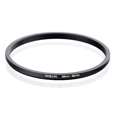RISE (UK) 86-82MM 86MM-82MM 86 to 82 Step Down Ring Filter Adapter