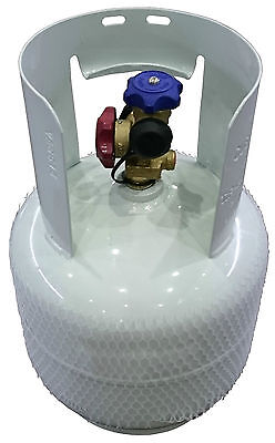 GENUINE MANCHESTER REFRIGERANT RECOVERY CYLINDER 11WC 5.2MPa POWDER COATED 10KG