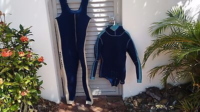 U.S. DIVERS Two Piece 7mm Suit Men's
