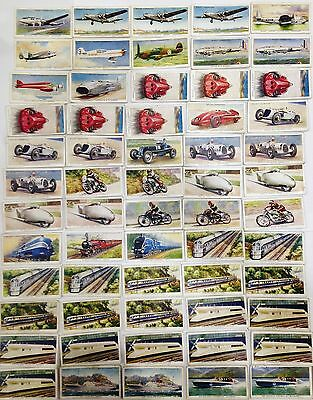 Speed Wills's Cigarettes Trade Cards 1930'S Bulk Vintage Collect #221