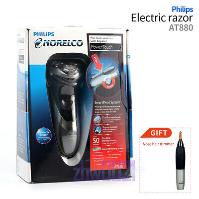 NEW Philips Norelco AT880 Cordless Rechargeable  Wet and Dry Electric Shaver