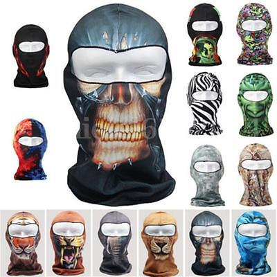 3D Sport Cycling Bicycle Bike Motorcycle Balaclava Hood Full Face Mask Scarf