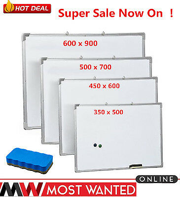 Top Quality Magnetic Dry Wipe Whiteboard Portable Office School Notice Board NEW