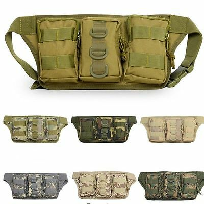 Outdoor Camping Hiking Waist messenger Bag Military Tactical Pouch Trekking Pack