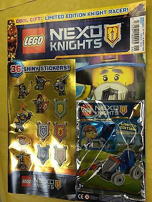 Lego NEXO KNIGHTS Magazine ISSUE 6 July 2016 FREE LIMITED EDITION KNIGHT RACER