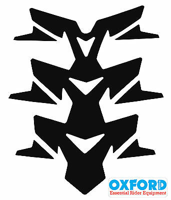 Oxford Motorcycle Invader Spine Tank Pad Of843 Fuel Tank Paint Protector Black