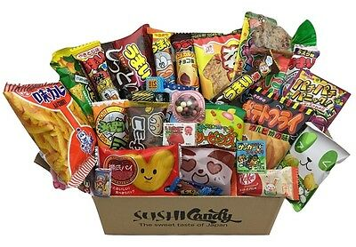 Japanese candy 30 pcs NOVEMBER set Japanese snack & sweets AIR MAIL great gift