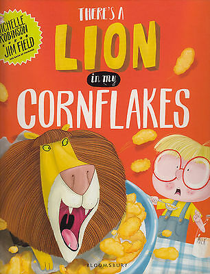 There's a Lion in My Cornflakes NEW BOOK by Michelle Robinson (Paperback, 2014)