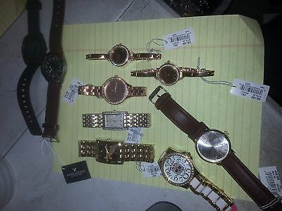 Lot of 9 New other Watches Nixon Caravelle New York mens / womens ! LOOK!