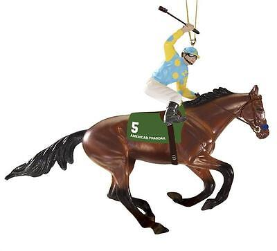 IN STOCK Breyer Horses American Pharoah Ornament #9179 Triple Crown Winner