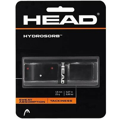 Head Hydrosorb Replacement Grip - Black - Rrp £15