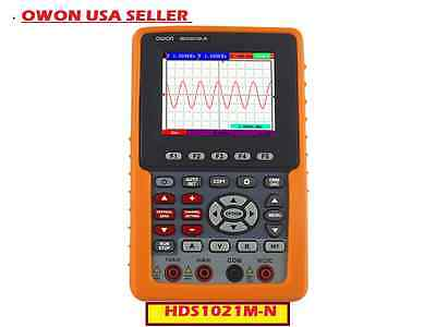 "Owon HDS1021M-N Latest 3.5""  20MHz 100MS/s Handheld Digital Storage Oscilloscope"