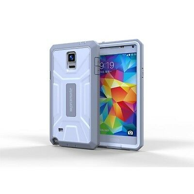 NEW ARMOR-N4.WHITE PROMATE 'ARMOR-N4' IMPACT-RESISTANT CASE FOR GALAXY NOTE.j.