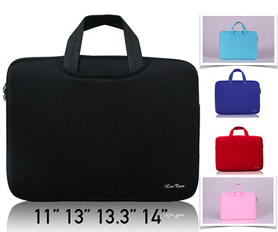 """Double-Layer Laptop Case Carry Sleeve Bag MacBook Air Pro 11"""" 12"""" 13"""" 14 inch"""